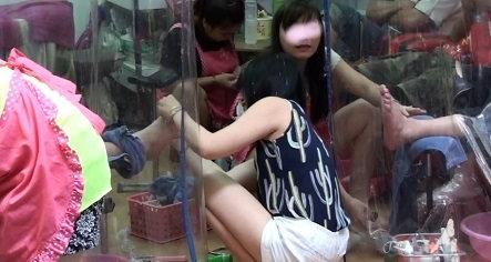 Erotic barbershop massage in seoul